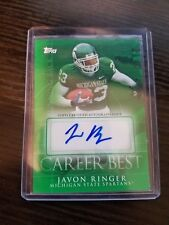 JAVON RINGER 2009 TOPPS CAREER BEST AUTOGRAPH AUTO ROOKIE RC MICHIGAN STATE! [[