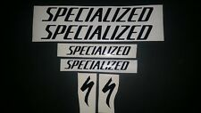 Specialized vinyl sticker / decal pk 4 re-spray / restore pick a plain colour.