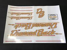Diamondback Hot Streak / Cool Streak Decals Sticker Orange Your Old School BMX