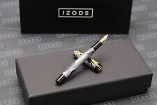 Parker Duofold International Grey Pearl Fountain Pen - 1998 MKII - Rare Colour