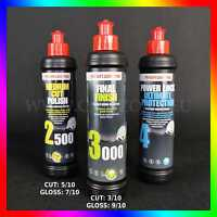 MENZERNA Polishing set: 2500 + 3000 + Power Lock Ultimate Protection (3x 250ml)