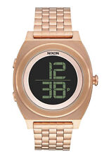 Nixon Stainless Steel Band Digital Wristwatches