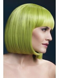 Wig Fever Collection Short Bob Style Synthetic Hair Quality Costume Wig