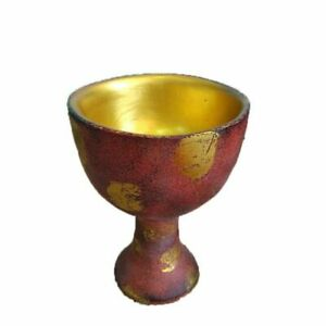 Wine Glass Holy Grail Cup Dish for Kitchen Untensil Decoration Religious Relic