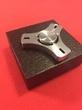 High Quality Fidget Spinner - CNC Milled Steel - Heavy, Not Cast, EDC Toy