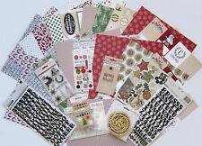 Teresa Collins (CANDY CANE LANE ) Textured Paper & Embellishments  (d) Save 55%