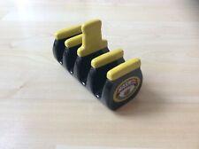 Vintage Retro Yellow & Black Collectible Ceramic MARMITE Toast Rack Holder