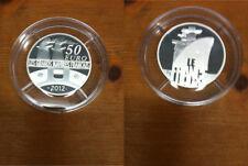Francia 50 euro 2012 grandes buques franceses-le france plata pp