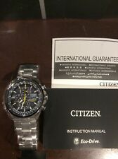 Citizen Eco-Drive Blue Angels AT8020-54L Wristwatch for Men