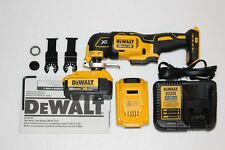 New Dewalt DCS355 20V Oscillating Multi-Tool 2-DCB204 4.0 Batteries & Charger