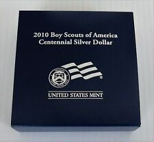 2010 Boy Scouts of America Silver Proof Dollar, Mint Packaging, BY1