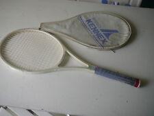 raquette de tennis vintage Kennex White Pro avec housse