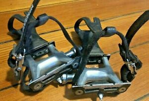 MKS RX-1 NJS Track / Road Pedals With Cateye Clips, Avenir Straps, Made in Japan