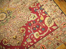 Antique Elegant Square Turkish Sivas Indian Agra Rug Size 4'X4'4''