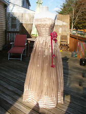 NWT BETSEY JOHNSON RARE QUEEN BEE LONG GOWN DRESS~10  **SALE**