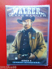 walker texas ranger n.4 terza stagione disco # 4 films film dvds dvd's tv series