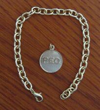 P.E.O. Charm Bracelet