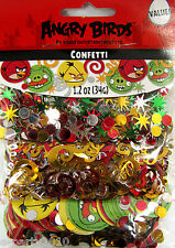 ANGRY BIRDS FOIL CONFETTI VALUE PACK (3 types) ~ Birthday Party Supplies