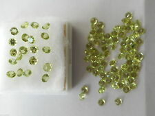 Excellent Cut Round Loose Peridots