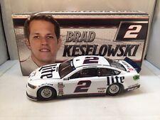2017 Brad Keselowski #2 Miller Lite Ford Fusion 1/24 NASCAR Diecast