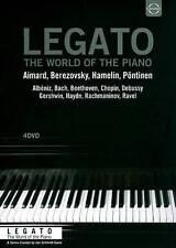 LEGATO: World of Piano, New DVDs