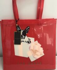 Ted Baker Icon Bag Large Shopper In A Box 100% Genuine Red