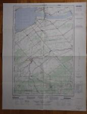Topographic Map HUNTINGDON Quebec Ontario 31 G/1 E 1971 Canada ST1002001018
