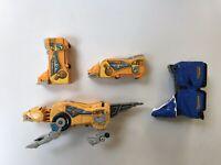 Vintage Power Rangers Toys Megazord Sabre-tooth Triceratops Megazord Toy Parts