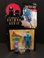 The Adventures Of Batman And Robin Pogo Stick Joker Sealed Kenner 1995 Figure