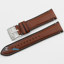 New Original FOSSIL Replacement Watch Strap CH3029 Brown Genuine Leather 22mm