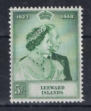 Leeward Islands 1948 Silver Wedding High Value SG 118 MNH