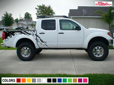 Decal Sticker Vinyl Side Bed Mud Splash Kit for Nissan Frontier Navara 2004-2015