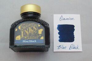 Diamine 80ml Fountain Pen Bottled Ink Blue Black