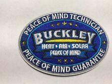 Buckley Heat Air Solar Peace of Mind Guarantee Technician Iron Sew Patch E