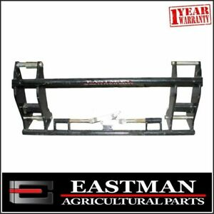 Euro Bracket Quick Hitch Carrier Frame Head Stock - Tractor Loader