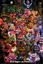 Five Nights At Freddy's Poster Ultimate Group 61x91.5cm