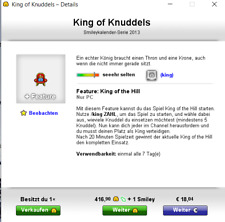 Knuddels.de Smiley King of Knuddels