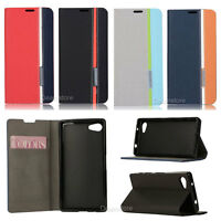Bookstyle Wallet Leather Flip Case Cover For Sony Xperia Z3 Z5 M4 M5 T3 C5 Z2 Z1