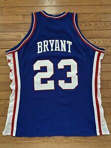 Joe Jellybean Bryant Kobe MITCHELL & NESS 1975-76 SIXERS 76ers JERSEY 46 NEW Tag