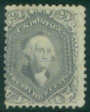 EDW1949SELL : USA 1862 Sc #78 Mint No Gum Very Fresh & Sound PSAG Cert. Cat $950
