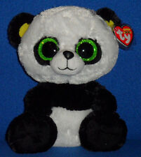 """TY BEANIE BOOS BOO'S - BAMBOO the 9"""" PANDA - MINT with MINT TAG"""