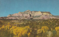 Old Chrome Postcard ca1950s A610 Wilson Mountain Sedona AZ Oak Creek Canyon