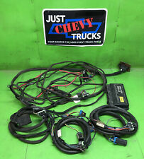 Complete Western Fisher Snow Plow Wiring Harness Chevy GMC 99 - 02 4 Port 26401