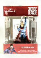 Hallmark JUSTICE LEAGUE SUPERMAN Christmas Ornament 2018, DC Comics WB, 2HCM4215