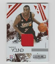 Thaddeus Young 76ers 2009-2010 Rookie & Star Longevity Ruby Patch#75 185/250