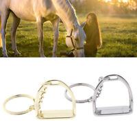 Horse Stirrup Keychain Ring Hanger Tool for Men Women Bag Equestrian Decor EB