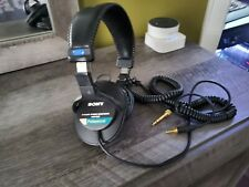 Sony MDR-7506 Over the Ear Professional Large Diaphragm Headphones - Black