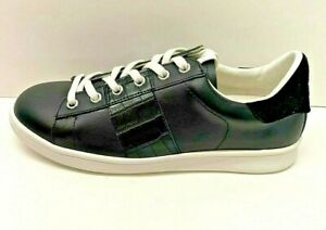 Sam Edelman  Size 7.5 Black Leather Sneakers New Womens Shoes