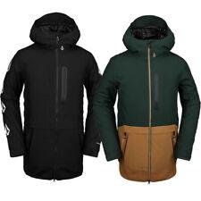 Volcom Deadlystones Long Jacket Herren-Snowboardjacke Skijacke Winterjacke Jacke