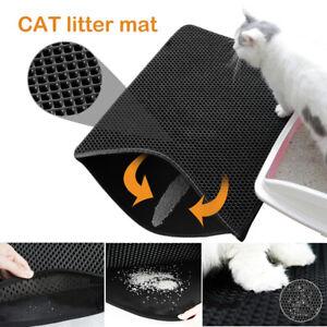 Double Layer Clean Waterproof Pad Pet Cat Litter Mat Rug Eva Foam Trapper